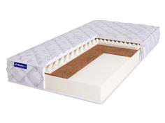 Матрас двуспальный BeautySon Roll FOAM 10 Cocos Sens Бесклеевой 150х185 14 см