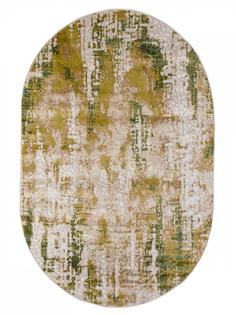 Ковер LARA 4617A овал зеленый 2,3х1,5м. Sofia Rugs