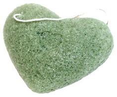 Спонж для умывания BRADEX Конняку с экстрактом зеленого чая
