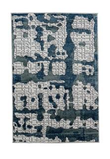 Ковер ворсовый NUR синий 100х150 арт. УК-1029-03 Kamalak tekstil