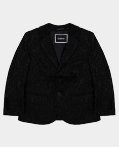 Черный пиджак Gulliver размер 110 220GPBMC4801