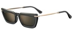 Солнцезащитные очки женские Jimmy Choo VELA/G/S, золотистые/серые