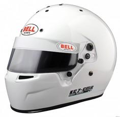 Шлем для картинга KC7-CMR (CIK, CMR2016), белый, р-р 54 BELL 1311003