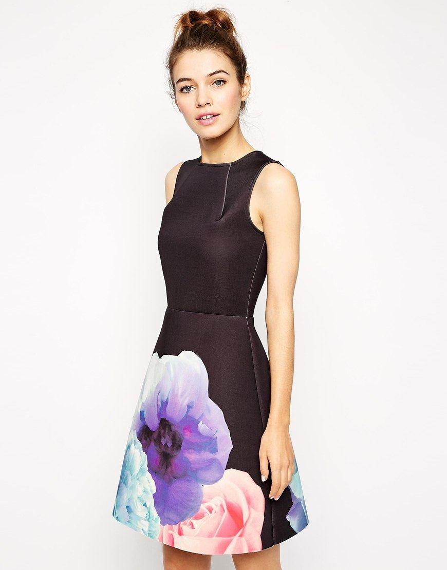 Уникальное платье с принтом