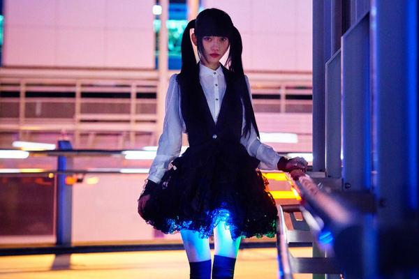 Hikaru Skirt Illuminates Girls Thighs