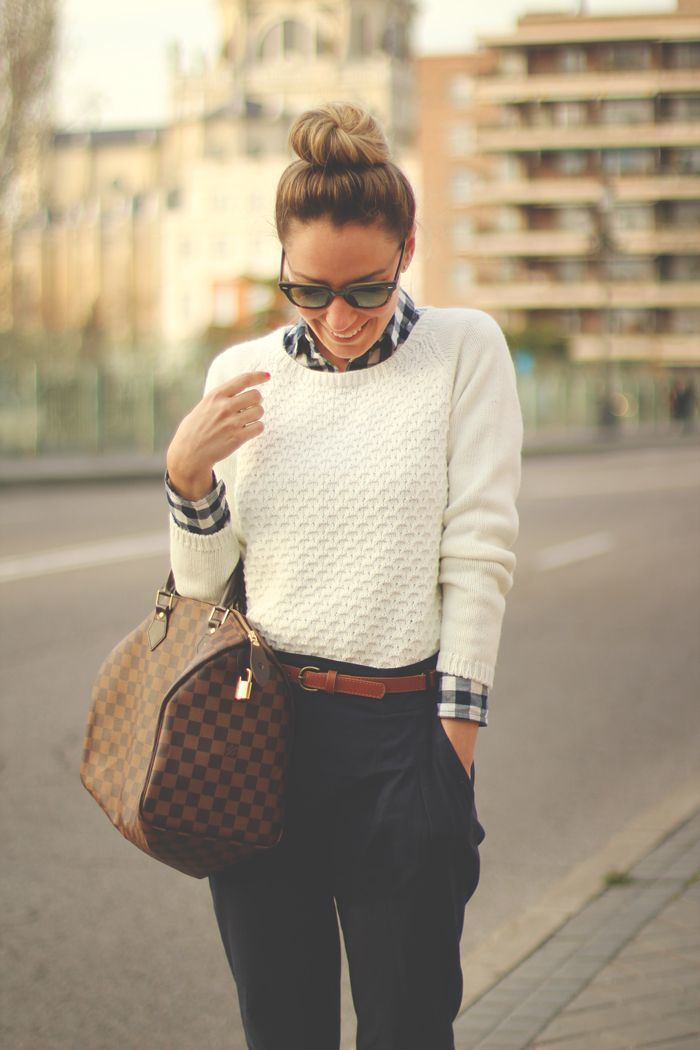 Stylish fashion girl