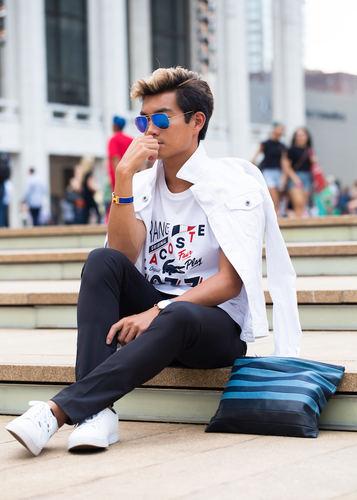 Street Style Lacoste