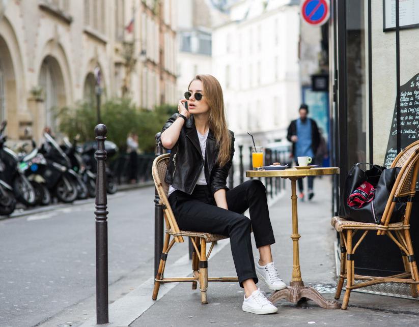 Соня Есьман в Париже
