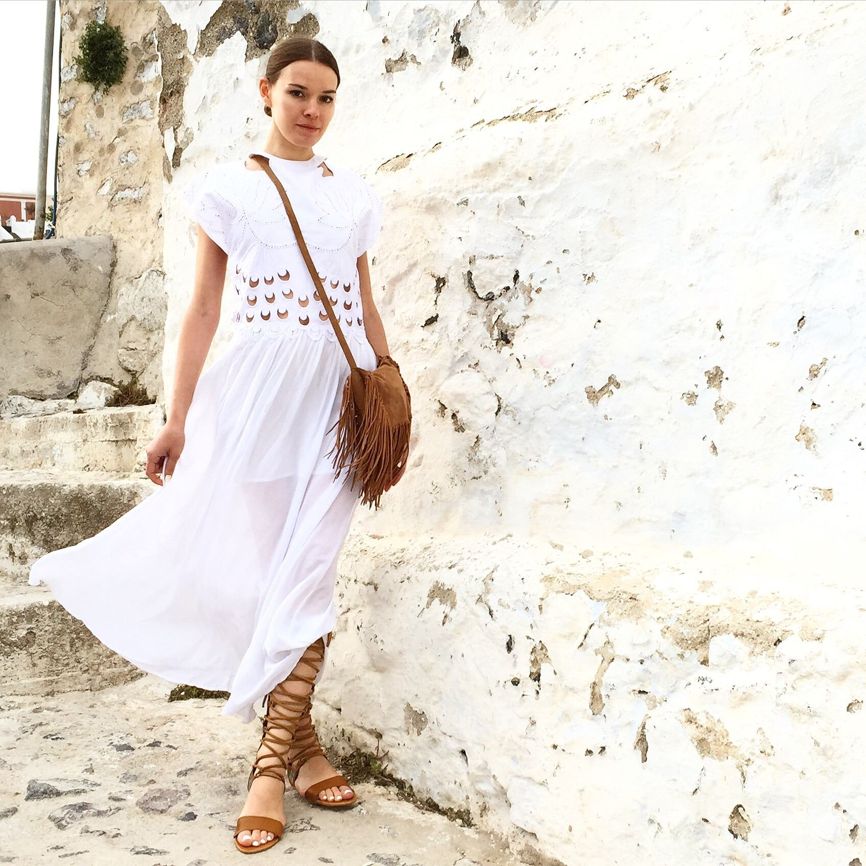 My Greek style in Santorini