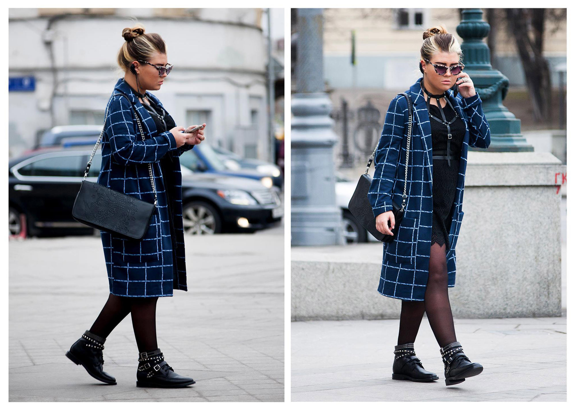 Street style from MBFW Russia