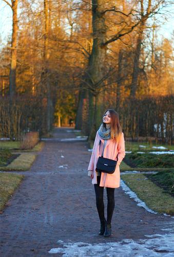 Осенний outfit. Образ для прогулки в выходной день
