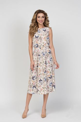 Летние платье LalaStyle 1263-144