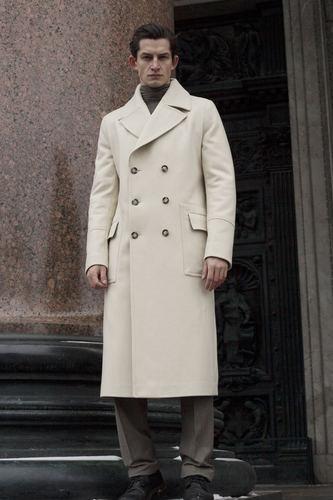 Зимнее мужское пальто Шинель